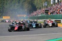 Ongewijzigde kalender voor Formule 2