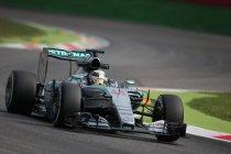 Monza: Tweemaal Hamilton-Rosberg-Vettel in vrije trainingen