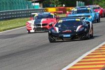 Spa Euro Race: Pole voor McLaren GT3 van Geddie / Derdaele-Lumbeeck met DVB-Viper snelst in Divisie GT