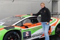 Sarah Bovy opgenomen in Lamborghini Young Drivers Program