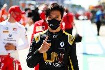 Piastri, Lundgaard en Zhou werken Formule 1-test af voor Renault