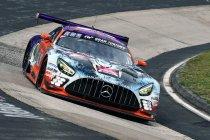 24H Nürburgring: HRT Mercedes-AMG leidt de openingstraining