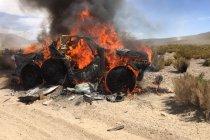 Brand verwoest Toyota van ten Brinke & Colsoul
