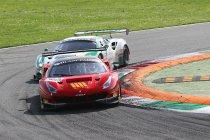 Monza: Van Glabeke uit chaotische race geknikkerd
