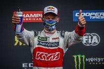 Höljes: Ekström wint race 2 na heroïsch gevecht met Kristoffersson