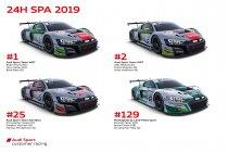 24H Spa: Audi bekent kleur