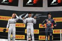 Spanje: Vier op een rij voor Hamilton en Mercedes AMG