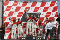 Een zege en nog drie extra podiumplaatsen in Slovakije en het Belgian Audi Club Team WRT voert het klassement in de Pro Cup nog steviger aan