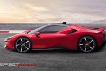 SF90 Stradale, de nieuwe hybride supercar van Ferrari