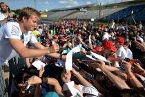 Hongarije: Rosberg houdt Verstappen af met twee duizendste in laatste training