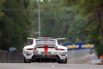 Porsche vervangt chassis van #92