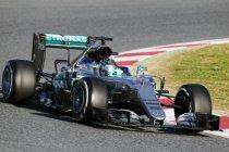 Wintertest Barcelona 2: Dag 1: Nico Rosberg snelste