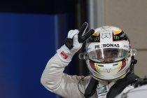 Bahrein: Hamilton pakt zijn eerste pole in Bahrein