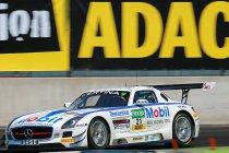 Lausitzring: Asch en Ludwig (Zakspeed Mercedes) lopen verder uit