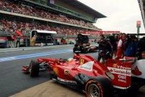 Spanje: Vettel snelste bij de vrije trainingen