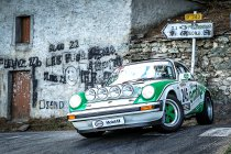 Tour de Corse Historique: Podia voor Vlieghe/Deplancke, Lareppe/David & Kelders/Chiappe