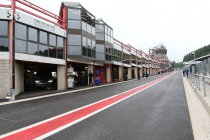 Circuit Spa-Francorchamps al zeker gesloten tot 19 april