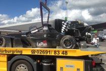 Nürburgring: Noami Schiff crasht hard met GH Motorsport Tatuus