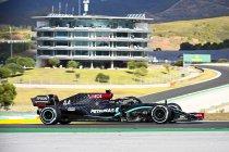 Portugal: Mercedes bezet opnieuw eerste startrij