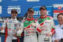 Slovakiaring: Tiago Monteiro voorbij Mehdi Bennani naar tweede seizoenszege voor Honda