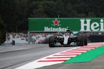 Oostenrijk: Mercedes op kop - McLaren traag