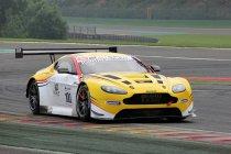 Spa: GT Open: Brussels Aston Martin Racing mee vooraan in de vrije trainingen