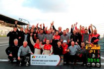 Beide titels voor Belgian Audi Club Team WRT