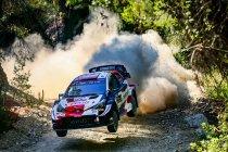 WRC: Rovanpera leidt, kampioenschap valt stilaan in definitieve plooi