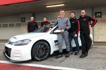 Maxime Potty mikt met WRT op TCR Europe-podium