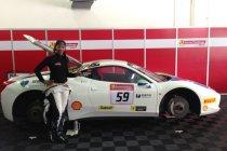 Sepang: Naomi Schiff lukt derde chrono in Ferrari Challenge Asia Pacific