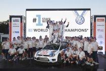 Rally van Australië: Volkswagen opnieuw wereldkampioen