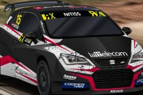 Reinis Nitiss met Seat Ibiza RX Supercar en ALL-INKL.COM Münnich Motorsport