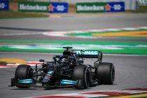 Spanje: Lewis Hamilton snelste in vrije training 2, Verstappen negende