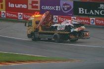 24H Spa: Mercedes boven tijdens eerste kwalificatie - Zware crash Kobayashi
