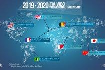 ACO maakt WEC-kalender 2019-20 bekend