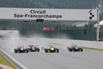 Brits F3: Zeven manches waaronder Spa in 2014