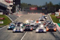 Seizoensopener GT World Challenge Europe in Monza met 44 wagens