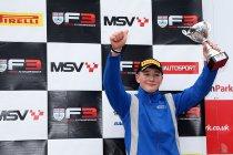Oulton Park: Sensationele rentree van Billy Monger in de eenzitter-racerij