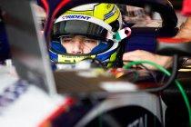 Bahrein testdagen: Luca Ghiotto lacht laatst