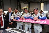 Zolder Superprix: Bert Longin met Roger Grouwels in Belcar - Start ook in Fiesta Cup