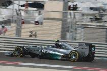 Abu Dhabi: Rosberg zet de toon in laatste training