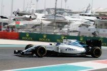 Abu Dhabi: Williams zonder rood