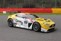 Spa: Brits GT met Aston Martin Brussels en BMW Marc VDS Racing Against Cancer