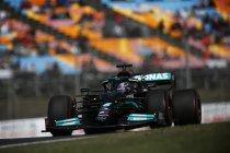 Turkije: Hamilton snelste, Bottas op pole