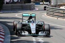 Monaco: Derde zege op rij in het prinsdom voor Rosberg
