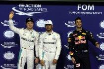 Abu Dhabi: Hamilton pakt pole, Rosberg start als tweede in seizoensfinale