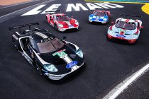 Ford neemt afscheid van Le Mans met 'feestelijke' livery's