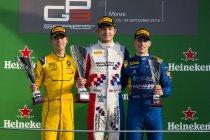 Monza: Arden dubbel in eerste GP3 race