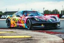 Larbre Compétition toont opvallende fluoriserende Art Car (+ Foto's)