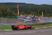 België: Ferrari oppermachtig, Leclerc sneller dan Vettel